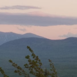 Mount Washington with some snow on northern side