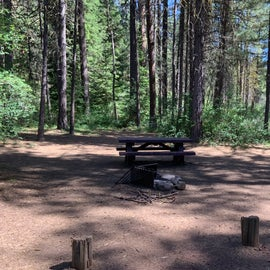 A regular campsite