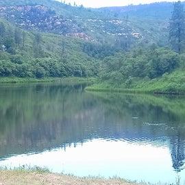 Shot of Lake Alice