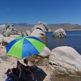 Chillin at the lake