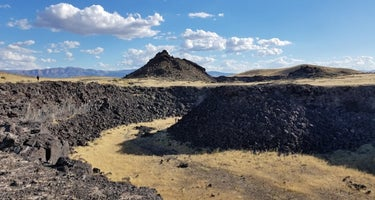 Pahvant Valley Heritage Trail includes:  Sunstone Knoll, Great Stone Face, Lace Curtain, Pahvant Butte, Devil's Curtain, Lava Tubes and Hole in the Rock.