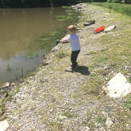 Wallace is a great place for kids to hone their fishing skills