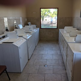Clean laundry rooms!