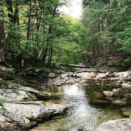 This is the swimming basin that the private trail on the campground leads you too!
