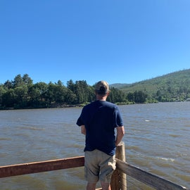 View of Lake Cuyamaca