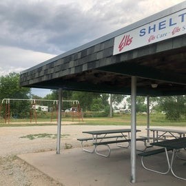 Elks Shelter and playground