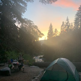 View of entire campground.