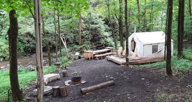 Mill Trail Falls: 2 tent sites available