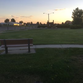 Park by Rv area