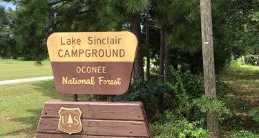 Lake Sinclair Campground