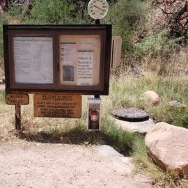 sign as you  walk into ranch