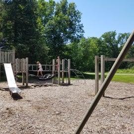 The playground near Lone Cedar