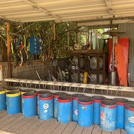 Tank fill station