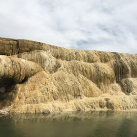 Go visit Thermopolis while you camp here; it's just up the road