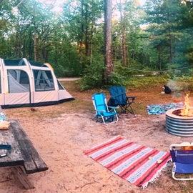 1st Camping Trip to Lake Dubonnet Trail Camp