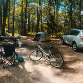 2nd Camping Trip by myself. :)