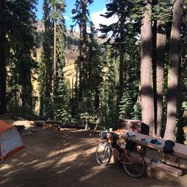 A pretty little campsite.