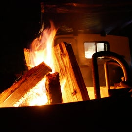 Campfires are always great!