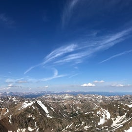 The views from the SE slope of Mt. Massive are incredible.