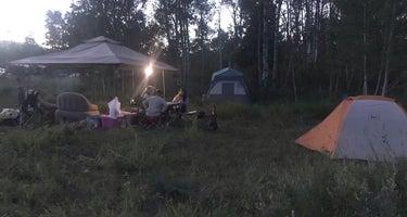 Palisades Reservoir Dispersed Camping