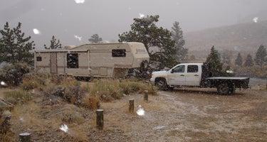 Kortes Dam Campground