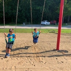 playground was fun