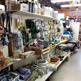 Stocked with items for your RV and camping