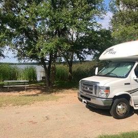 Plateau campground site 64