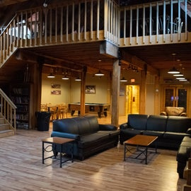 Lodge-No rooms here, but nice place to play pool/hangout