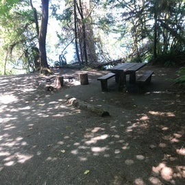 Not my B13 campsite, but a different one