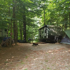 Site 93 Pemi River Campground