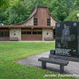 Chief Logan State Park headquarters/museum