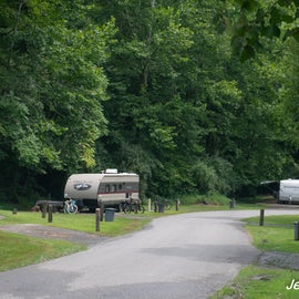 RV sites not too crammed