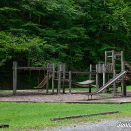 Lots of  playgrounds and shelters throughout the park.