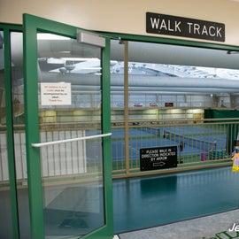 Indoor walking track