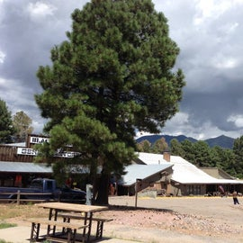 Campground general store