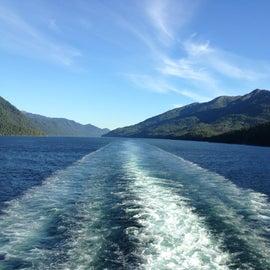 southeast Alaskan coast