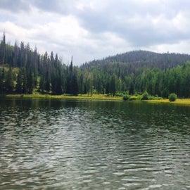 Pearl Lake, mid afternoon