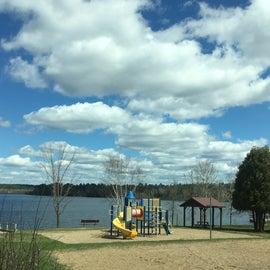 Beach/Playground area