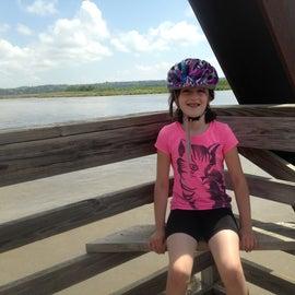 Bike trail bridge over the Niobrara River