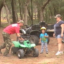 Lake Delancy west campground in the Ocala National Forest in Florida  Great atv riding trails and camping.