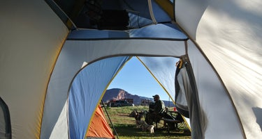 Capitol Reef NP Group Campsite