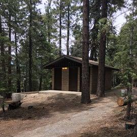 Campground bathroom