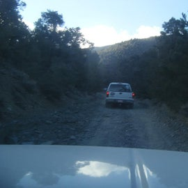 Part of the drive up. all dirt.