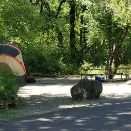 One of the camp sites