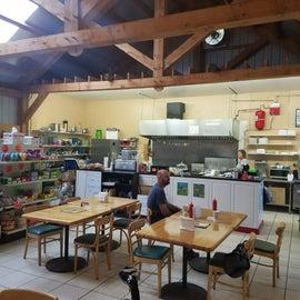 inside of restaurant / store