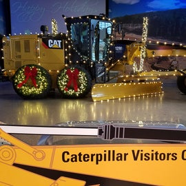 The Caterpillar Visitor Center is definitely worth a visit.