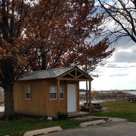 Rental cabin.