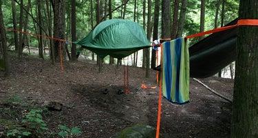 Thompson Creek Trail Campsites