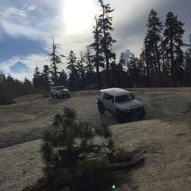 Wonderful cruise on the buck rock jeep trail